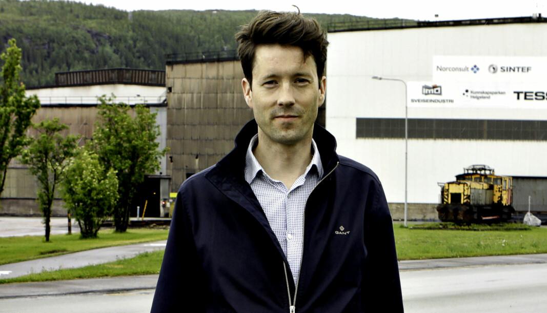 Kim-André Åsheim, påtroppende leder for samfunnskontakt og kommunikasjon i Mo Industripark.