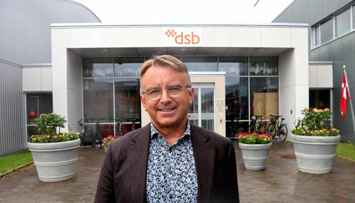 Agnar Christensen, fungerende direktør for Norges brannskole.