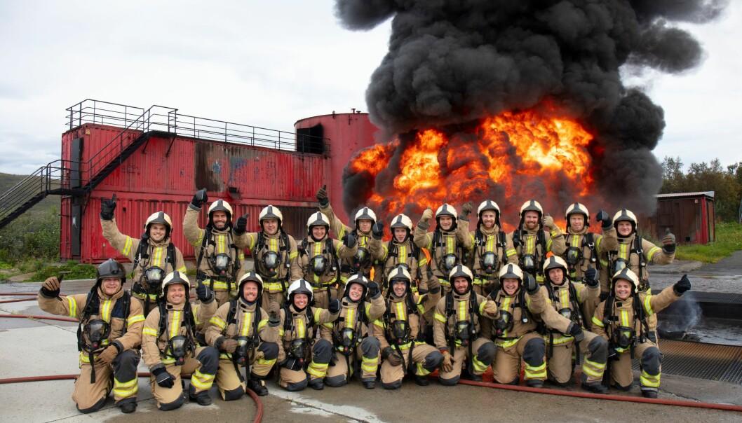 Mange nye brannfolk skal utdannes på Fjelldal fremover.