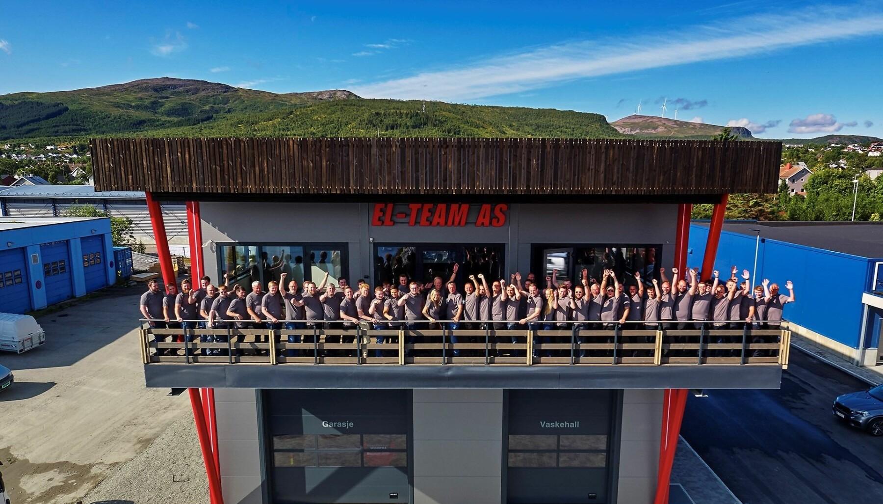 Selskapet flyttet for noen år siden inn i nytt, spesialbygd og hypermoderne hovedkontor på Sortland.