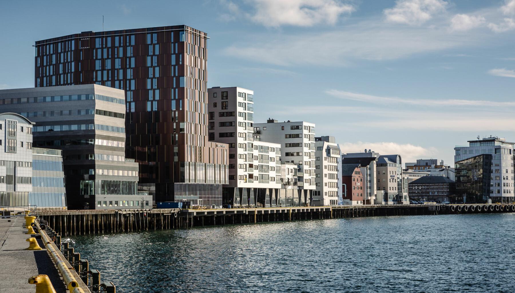 Quality Hotel Ramsalt er flaggskipet for den «nye» bydelen på Hundholmen i Bodø.