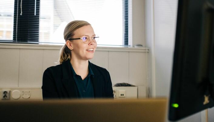 Line Suhr Johansen, webutvikler og gründer.