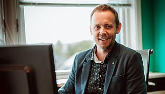 Ivar Tjønsø, daglig leder i Nettrakett.