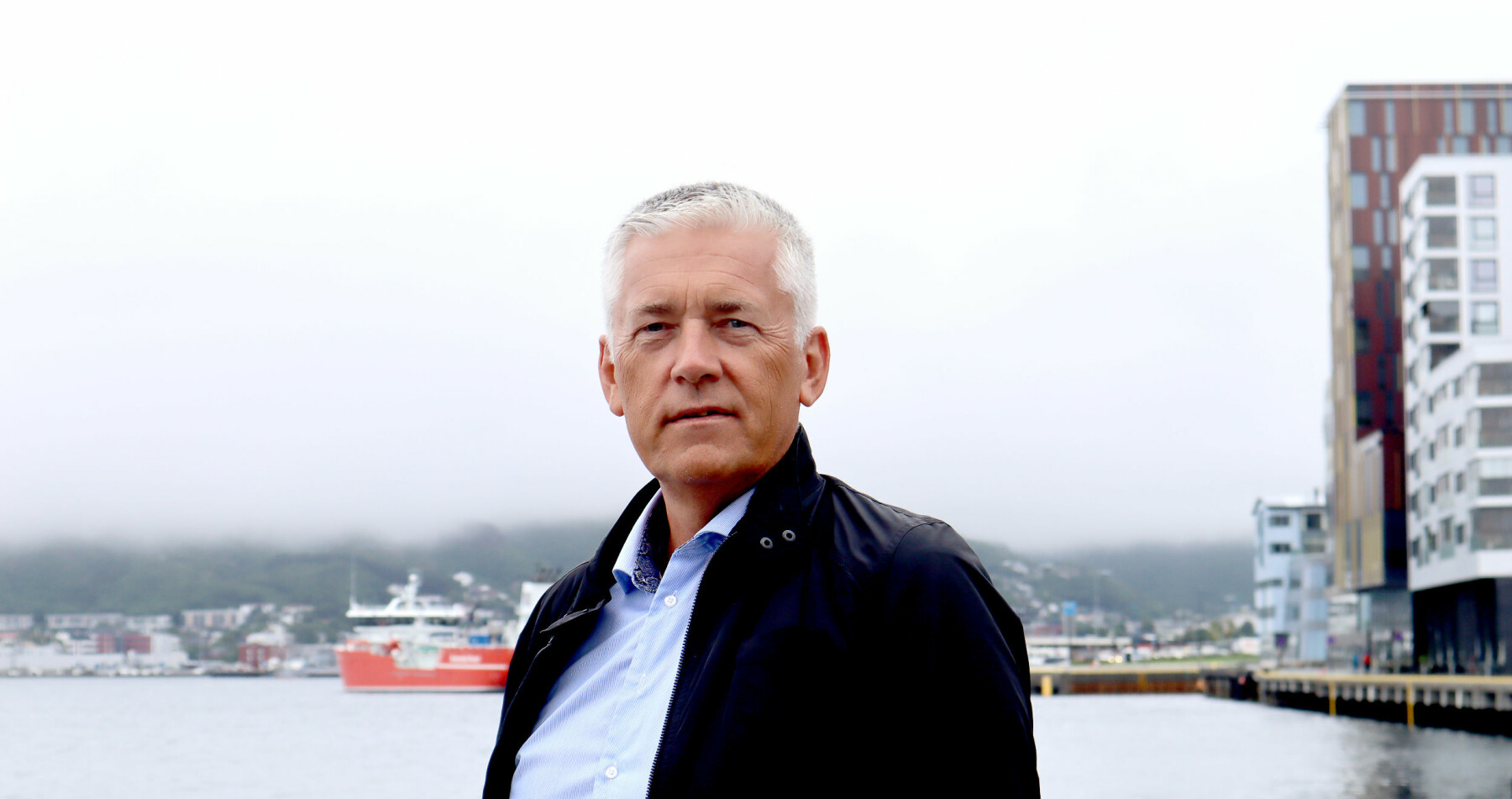 Påtroppende kommunedirektør Kjell Hugvik tror på videre vekst og en «ny by» i Bodø.