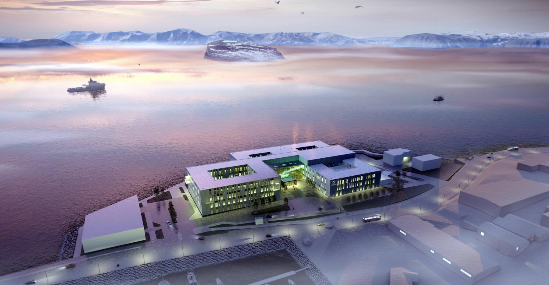 Slik blir det nye sykehuset.