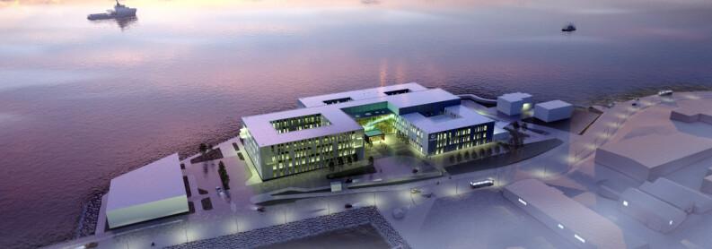 Her bygges landets mest moderne lokalsykehus