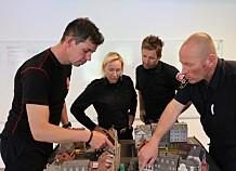 DSB søker resepsjonist til den nye brannskolen på Fjelldal