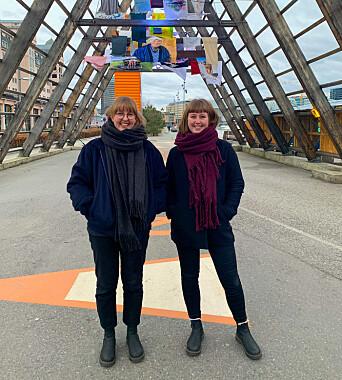 Kristine Karlsen og Pernille Elverud Tårnes driver Kvass Oslo. Nå jobber Karlsen fra Nord-Norge.