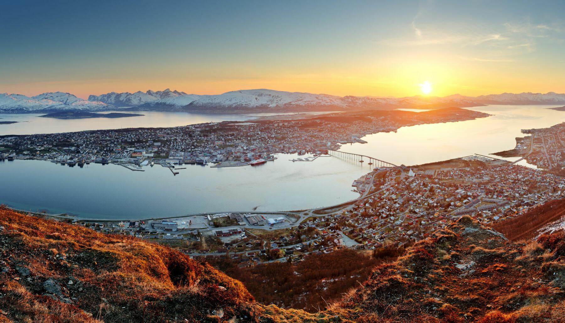 Befolkningsveksten i Tromsø ser ut til å stagnere i 2021.