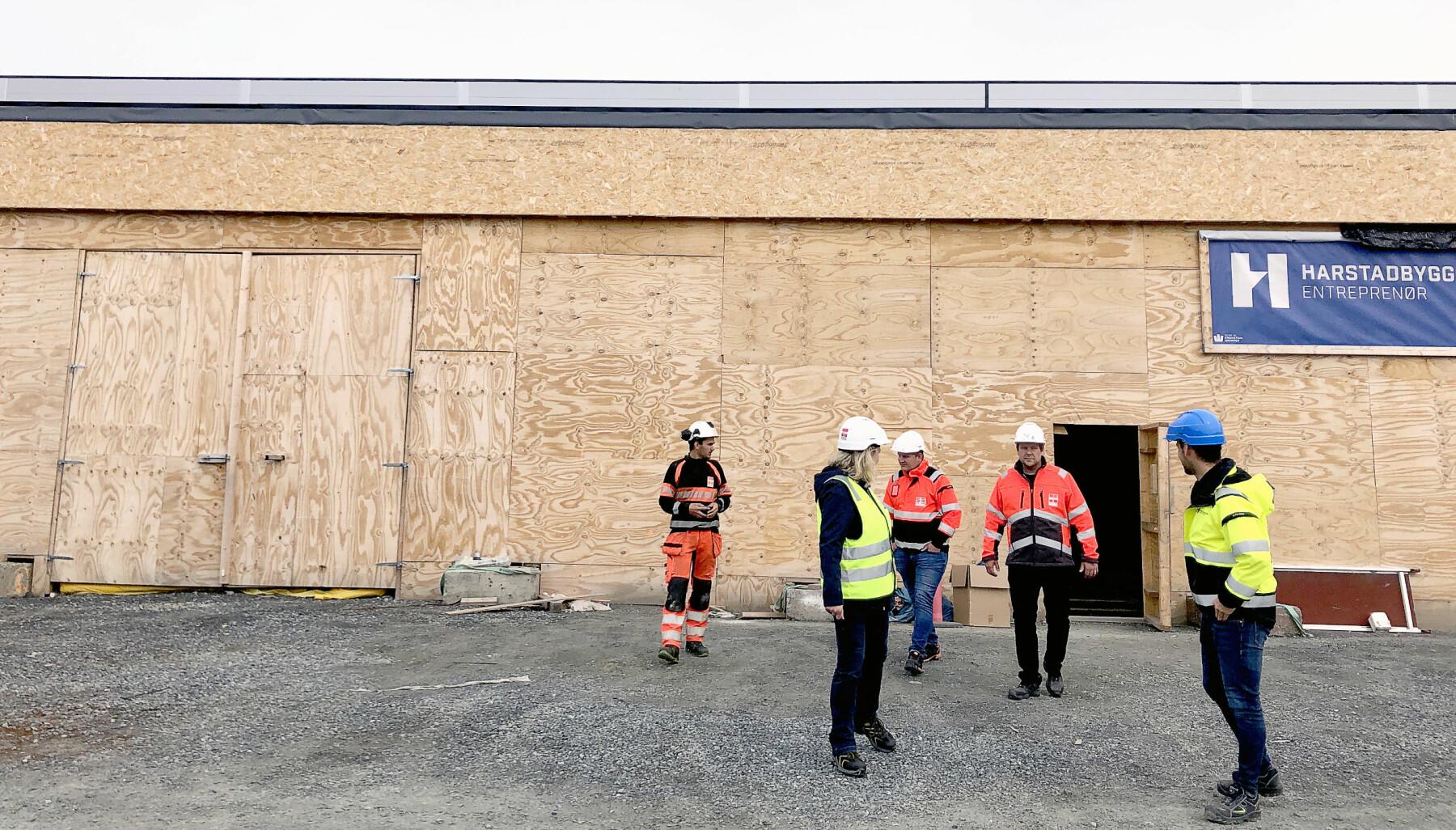 Harstadbygg Entreprenør bygger for tiden sitt eget hovedkontor kombinert med ny butikk for XL-BYGG.