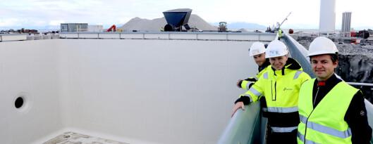 Her bygges det som kan bli en av Norges største på oppdrett