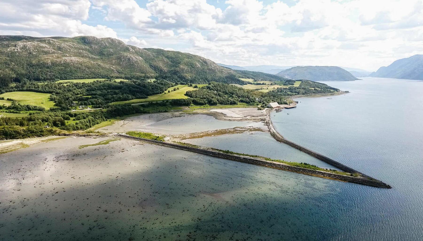 Her kan det bli hydrogenfabrikk utenfor Mosjøen.