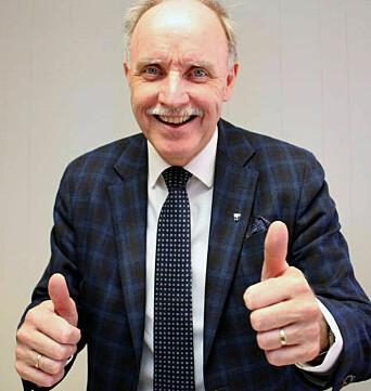 Bøs ordfører Sture Pedersen.