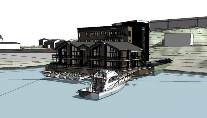 Arctic Sea Hotel & Apartments åpner i vinter.