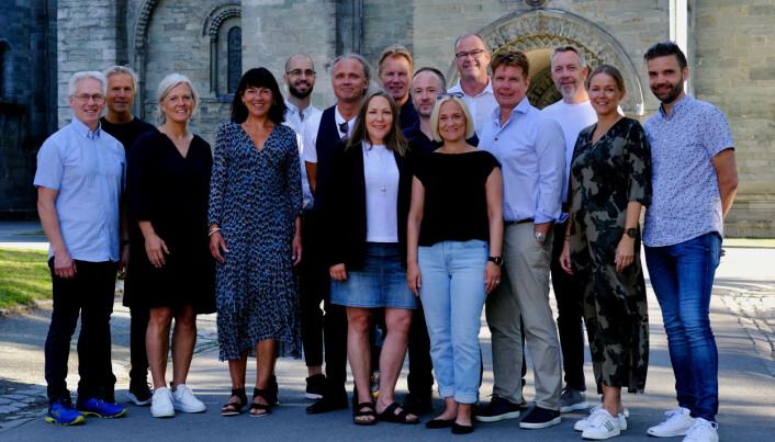 Programledere, lederutviklere og stab i Nordnorsk Lederutvikling.