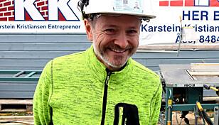 Asbjørn Waltila (55),35 år i KKE