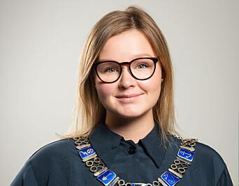 Ordfører Aina Nilsen.